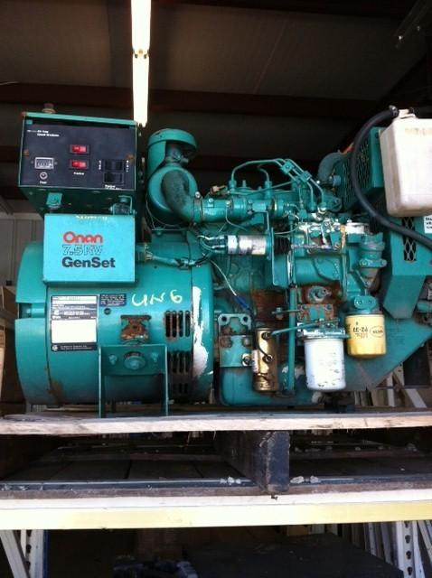 Rv Diesel Generator >> Onan Diesel Rv Generator Used Onan 7500 Ouiet Diesel Generator For