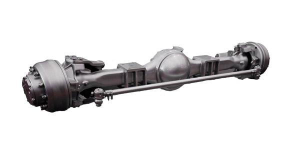 Meritor Front Axles : Meritor fd front axle for sale freightliner xc