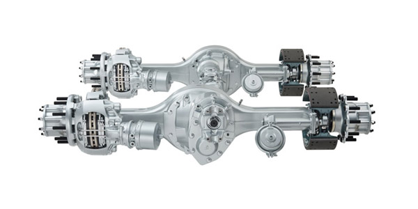 Meritor Rs 19 145 L Srs Rear Axle Freightliner Xc