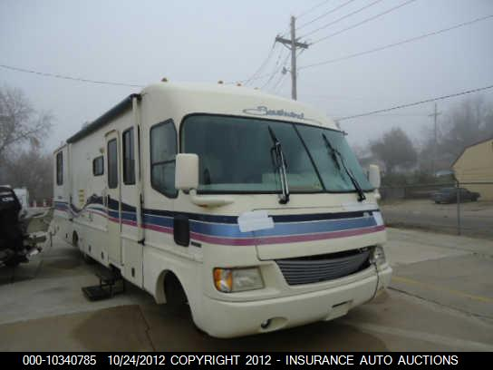 1995 FLEETWOOD SOUTHWIND MOTORHOME USED PARTS FOR SALE REAR BUMPER FRONT AND CAP