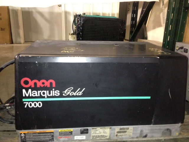 Onan 7000 Marquis Gold Used Generator For Sale 513 Hours