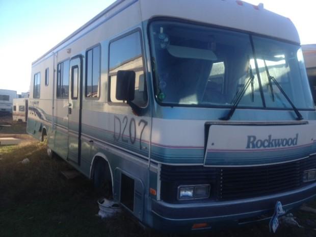 1993 Rockwood Diesel Motorhome Salvage Parts Rockwood Cargo