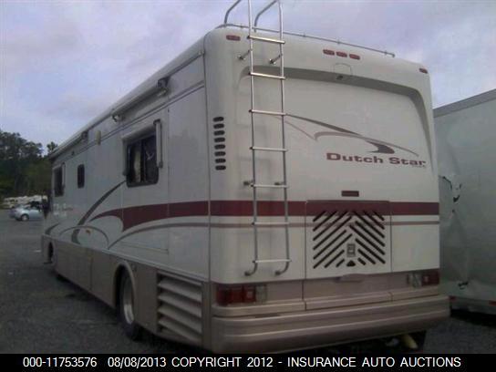 2001 Newmar Dutch Star Diesel Motorhome RV Salvage Parts, Newmar
