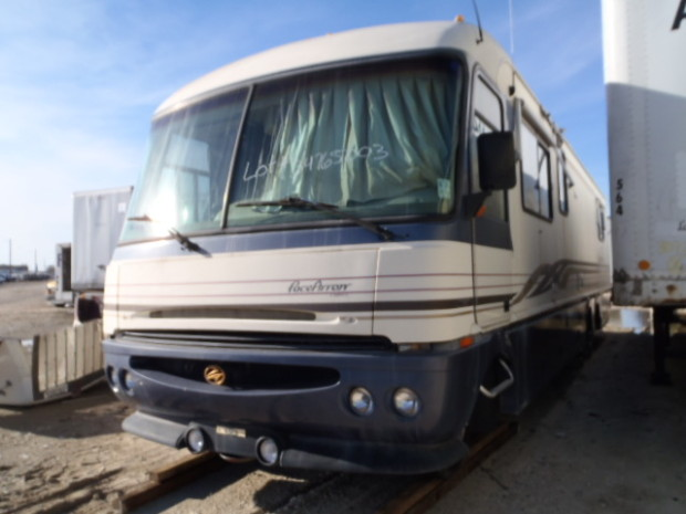 1996 Fleetwood Pace Arrow Vision Motorhome Salvage, Pace