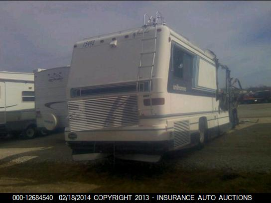 1993 Foretravel Unihome Motorhome Salvage Parts Foretravel