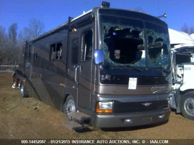 2004 Fleetwood Discovery Motorhome For Sale Salvage Parts