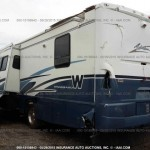 2003 WINNEBAGO ADVENTURER MOTORHOME MODELWFG35U USED PARTS FOR SALE