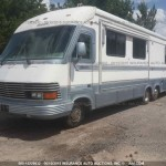 1993 MOUNTIAN AIRE MOTORHOME USED SALVAGE PARTS, FORD F53 FUEL TANK FOR SALE