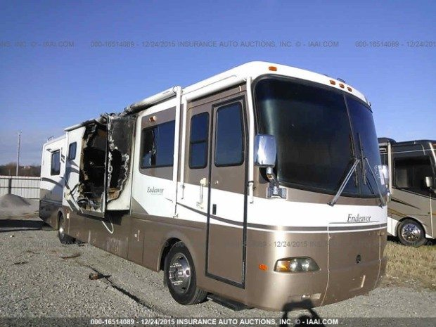 2002 Holiday Endeavor Diesel Motorhome, Used Salvage RV Parts