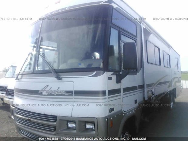 2001 Winnebago RV parts from the Adventurer Motorhome unit pictured here: